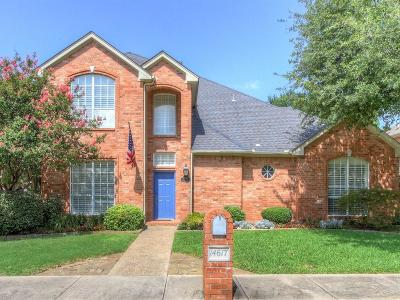 Addison Single Family Home For Sale: 14617 Lakecrest Drive