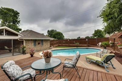 Rowlett Single Family Home For Sale: 2018 Dover Drive
