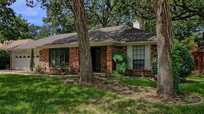 North Richland Hills Single Family Home Active Contingent: 7741 Red Oak Street