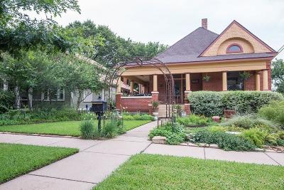 Fort Worth Single Family Home For Sale: 1700 Fairmount Drive