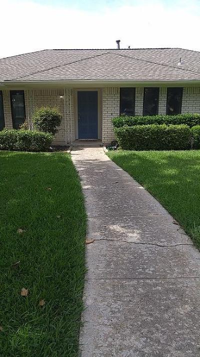 Richardson Single Family Home For Sale: 1207 Grinnell Drive