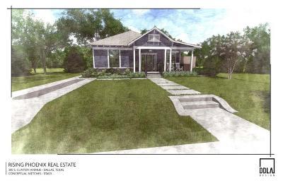 Dallas Single Family Home For Sale: 300 S Clinton Avenue