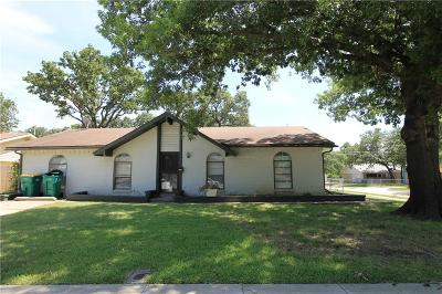 Lewisville Single Family Home Active Option Contract: 1074 Winterwood Drive
