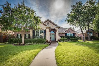 Frisco Single Family Home Active Option Contract: 11341 Deep Canyon Trail