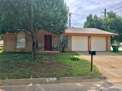 Denton Single Family Home For Sale: 3719 Atlas Drive