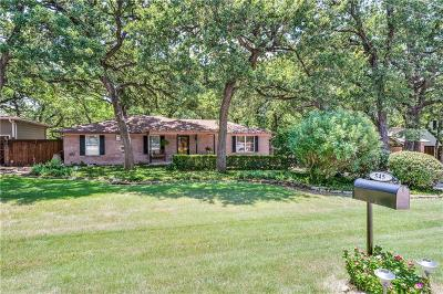 Coppell Single Family Home Active Option Contract: 545 Oak Grove Lane