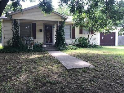 Stephenville Single Family Home Active Option Contract: 650 S Third Avenue