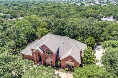 Flower Mound Single Family Home For Sale: 2501 Peninsula Drive