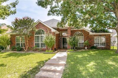 Allen Single Family Home Active Option Contract: 610 Rockcrossing Lane