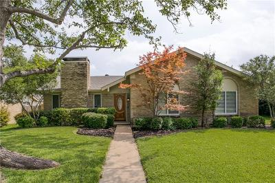 Plano Single Family Home Active Option Contract: 3616 Hendrick Drive