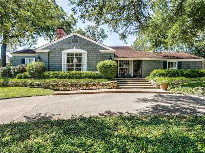 Fort Worth Single Family Home For Sale: 6009 El Campo Avenue