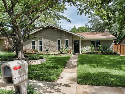 Lewisville Single Family Home Active Option Contract: 1219 Granada Lane
