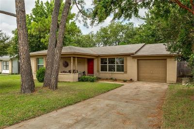 North Richland Hills Single Family Home Active Option Contract: 5105 Roberta Drive