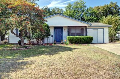 Euless Single Family Home For Sale: 1011 Aransas Drive