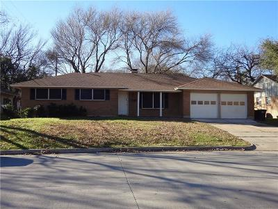 Fort Worth Single Family Home For Sale: 6016 Welch Avenue