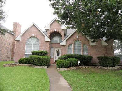 Carrollton Single Family Home Active Contingent: 4204 Juniper Lane