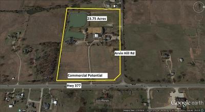 Aubrey Farm & Ranch For Sale: 4831 Hwy 377