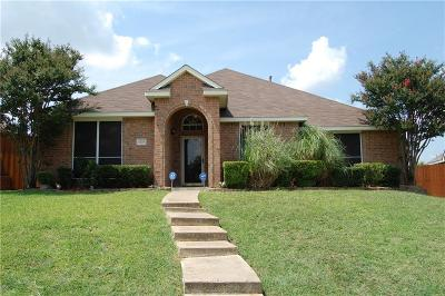 Mesquite Single Family Home Active Option Contract: 1929 Parkdale Drive