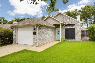 Denton Single Family Home Active Option Contract: 1000 Mack Place