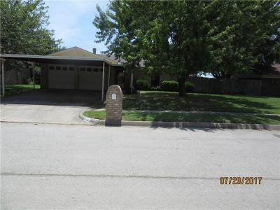 Saginaw Single Family Home Active Option Contract: 721 Meadowdale Drive