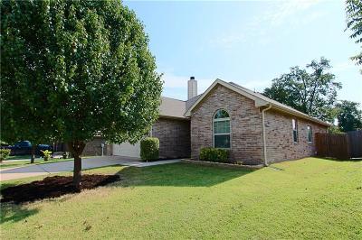 Azle Single Family Home Active Option Contract: 604 Kriston Drive