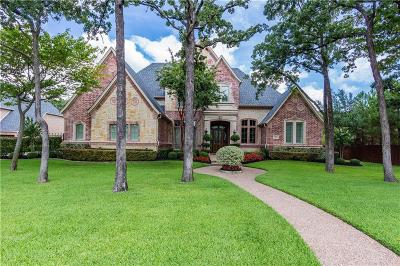 Keller Single Family Home For Sale: 2313 Tall Woods Trail