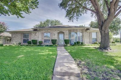 Garland Single Family Home Active Option Contract: 4641 Burdock Drive