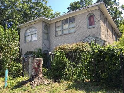 Dallas Residential Lots & Land For Sale: 2217 N Fitzhugh Avenue