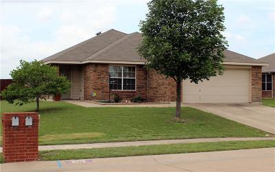 Waxahachie Single Family Home Active Option Contract: 111 Shea Street