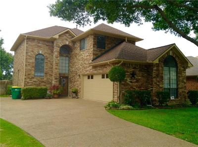 Rowlett Single Family Home For Sale: 8814 Greenwood Trail