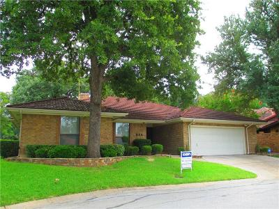 Fort Worth Single Family Home For Sale: 825 Havenwood Lane S