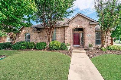 Frisco Single Family Home Active Option Contract: 10720 Spring Lake Road