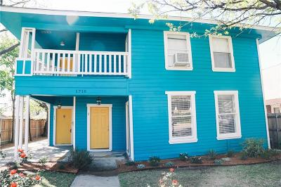 Fort Worth Multi Family Home For Sale: 1710 College Avenue
