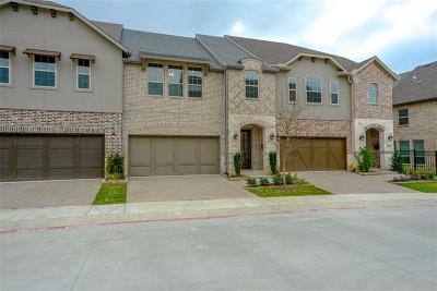 Lewisville Townhouse For Sale: 2472 King Arthur Boulevard