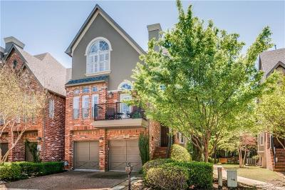 Addison Townhouse For Sale: 4135 Towne Green Circle