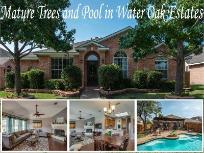 Lewisville Single Family Home For Sale: 1248 Valley Oaks Drive