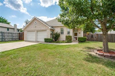 Rowlett Single Family Home Active Option Contract: 8205 Blackfin Drive