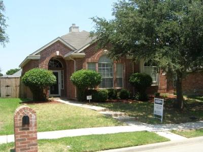 Lewisville Single Family Home For Sale: 1677 Big Bend Drive