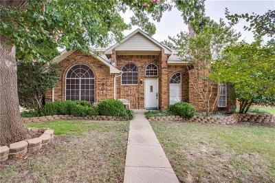 Allen Single Family Home Active Option Contract: 601 Willow Oak Drive