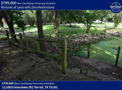 Terrell Residential Lots & Land For Sale: 11100 E Interstate 20 Highway