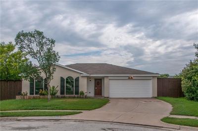 Watauga Single Family Home Active Option Contract: 6113 Sandy Lane