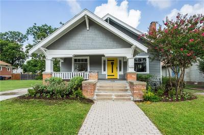 Fort Worth Single Family Home For Sale: 1626 S Adams