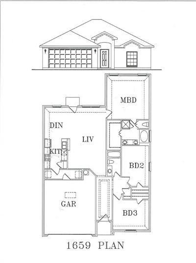 Bedford Single Family Home For Sale: 2720 Brasher Lane