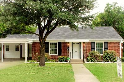 Fort Worth Single Family Home For Sale: 4236 Winfield Avenue