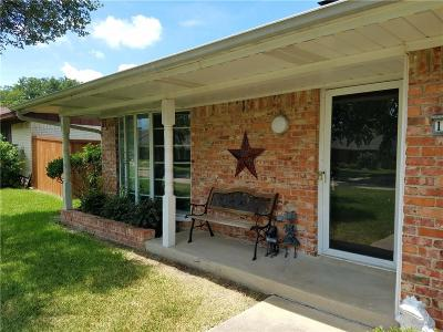 Carrollton Single Family Home Active Option Contract: 1607 Woodcrest Lane