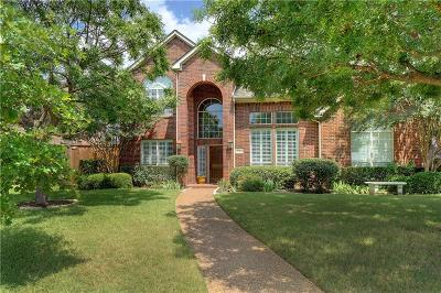 Coppell Single Family Home Active Option Contract: 1036 Village Parkway