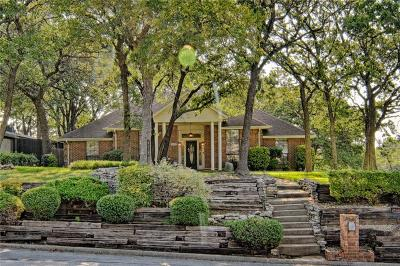 Grapevine Single Family Home For Sale: 2639 Tanglewood Drive