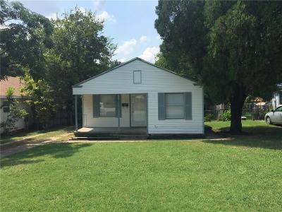 River Oaks Single Family Home Active Option Contract: 5117 Almena Road