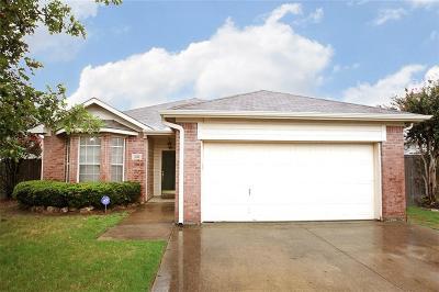 Denton Single Family Home Active Option Contract: 2316 Wildwood Lane