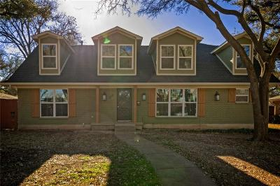 Farmers Branch Single Family Home For Sale: 3916 Crestpark Drive